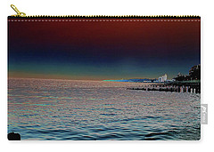 Night Winds And Waves Carry-all Pouch