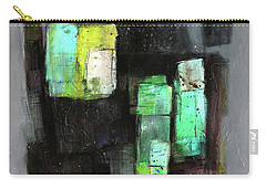 Texture Of Night Painting Carry-all Pouch by Behzad Sohrabi