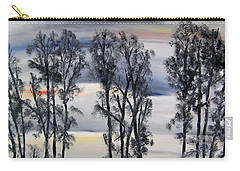 Carry-all Pouch featuring the painting Nightfall Approaching by Marilyn  McNish