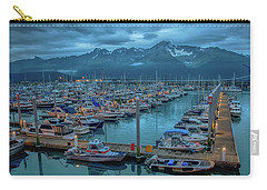 Nightfall On The Harbor Carry-all Pouch