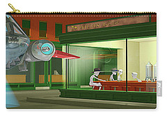 Nighthawks Invasion Carry-all Pouch by Peter J Sucy
