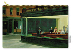 Nighthawks Carry-all Pouch by Sean McDunn