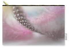 Carry-all Pouch featuring the photograph Nightingale's Trill.  Angels Flight Series by Jenny Rainbow