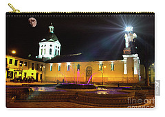 Nighttime At San Sebastian Carry-all Pouch by Al Bourassa