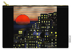 Nighttime Sunset Carry-all Pouch