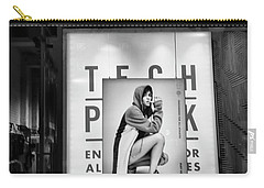Nike Display Street Photo Black Retail Store  Carry-all Pouch