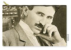 Nikola Tesla, Serbian-american Inventor Carry-all Pouch