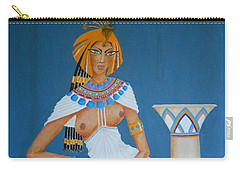 Nile Nymph -- Cleopatra, #1 In Famous Flirts Series Carry-all Pouch