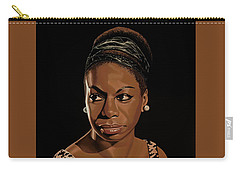 Nina Simone Painting 2 Carry-all Pouch