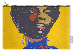 Nina Simone Carry-all Pouch by Stormm Bradshaw