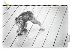 Ninja Lynx Kitty Bw Carry-all Pouch