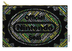 Nintendo Games Names Mosaic Carry-all Pouch