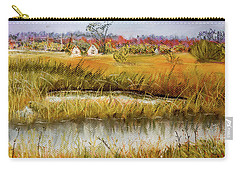Nisqually In Fall - Landscape Carry-all Pouch by Barry Jones