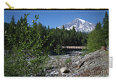Nisqually River Suspension Bridge Carry-all Pouch