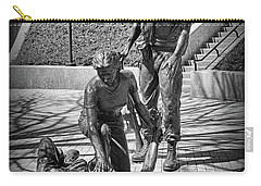 Nj Vietnam Veterans Memorial Carry-all Pouch by Paul Ward
