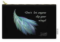 Wings Carry-all Pouch by Suzanne Schaefer