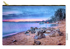 Carry-all Pouch featuring the photograph No Escape by Edward Kreis
