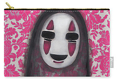 No Face  Carry-all Pouch by Abril Andrade Griffith