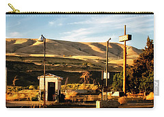 Carry-all Pouch featuring the photograph No Gas... by Albert Seger