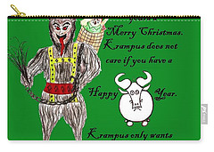 No Happy Gnu Year Carry-all Pouch