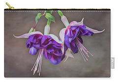 Purple Fuchsia Carry-all Pouch