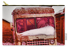 Carry-all Pouch featuring the photograph No More Deliveries by Jeff Swan