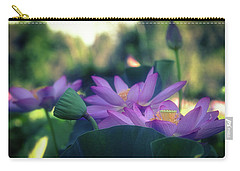 Carry-all Pouch featuring the photograph No Mud, No Lotus by Cindy Lark Hartman