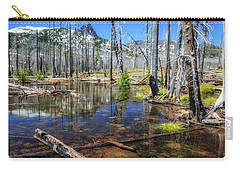 Carry-all Pouch featuring the photograph No Name Pond by Cat Connor