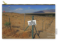 No Parking Anytime Carry-all Pouch