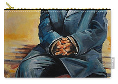 No Permanent Address Carry-all Pouch by Jean Cormier