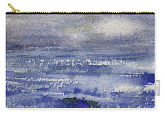 Carry-all Pouch featuring the painting No Promises by Kris Parins