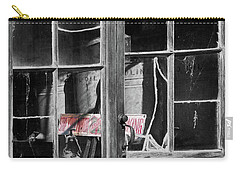 Carry-all Pouch featuring the photograph No Smoking by Jeffrey Jensen