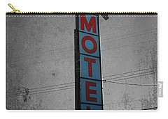 No Tell Motel Carry-all Pouch