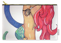 No This Is Not Ariel Carry-all Pouch by Loretta Nash