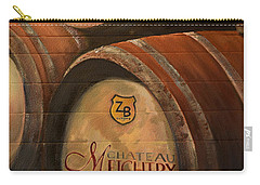 No Wine Before It's Time - Barrels-chateau Meichtry Carry-all Pouch