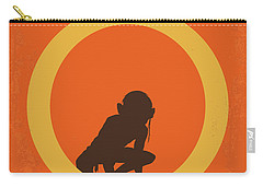 No039-2 My Lotr 2 Minimal Movie Poster Carry-all Pouch