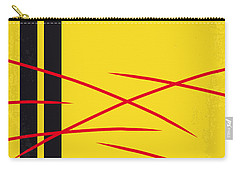 No049 My Kill Bill-part2 Minimal Movie Poster Carry-all Pouch by Chungkong Art