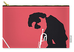 No082 My Miles Davis Minimal Music Poster Carry-all Pouch
