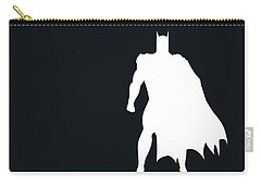 No20 My Minimal Color Code Poster Batman Carry-all Pouch