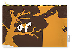 No202 My The Lone Ranger Minimal Movie Poster Carry-all Pouch by Chungkong Art