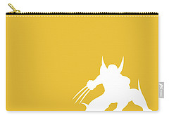 No21 My Minimal Color Code Poster Wolverine Carry-all Pouch