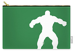 No22 My Minimal Color Code Poster Hulk Carry-all Pouch
