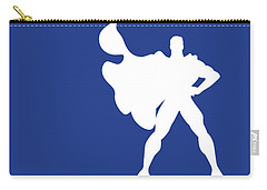 No23 My Minimal Color Code Poster Superman Carry-all Pouch