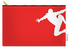 No24 My Minimal Color Code Poster Spiderman Carry-all Pouch