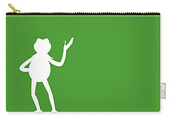 No25 My Minimal Color Code Poster Kermit  Carry-all Pouch