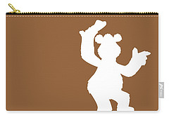 No28 My Minimal Color Code Poster Fozzy  Carry-all Pouch
