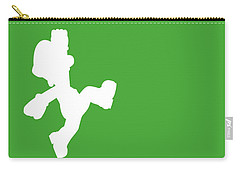 No34 My Minimal Color Code Poster Luigi Carry-all Pouch
