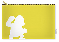 No43 My Minimal Color Code Poster Wario Carry-all Pouch