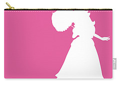 No44 My Minimal Color Code Poster Peach Carry-all Pouch