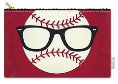 No541 My Major League Minimal Movie Poster Carry-all Pouch